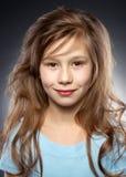 Mooi glimlachend meisje portraite Royalty-vrije Stock Afbeelding