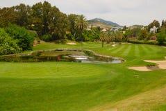 Mooi golfgat Stock Fotografie