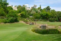 Mooi golfgat Royalty-vrije Stock Afbeeldingen
