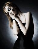 Mooi gotisch meisje Royalty-vrije Stock Afbeeldingen