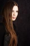 Mooi gotisch meisje Royalty-vrije Stock Foto
