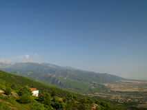 Mooi Grieks landschap Royalty-vrije Stock Fotografie