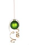 Mooi groen ornament Stock Afbeeldingen