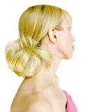 Mooi Haar van de Blonde (2) stock fotografie