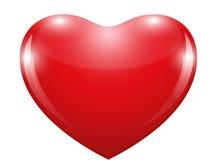 Mooi hart van liefde Stock Afbeeldingen