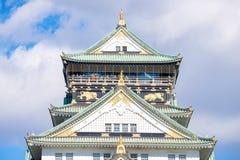Mooi het Kasteel van Himeji, oriëntatiepunt van Osaka Royalty-vrije Stock Foto's