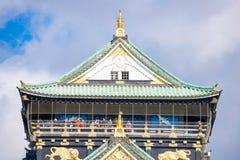 Mooi het Kasteel van Himeji, oriëntatiepunt van Osaka Royalty-vrije Stock Fotografie