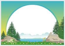 Mooi het malplaatjeontwerp van het Jonge geitjesdiploma vector illustratie
