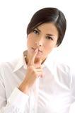Mooi het meisjesportret van Zen Stock Foto