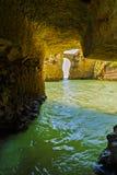 Mooi hol in Algarve Portugal Royalty-vrije Stock Fotografie
