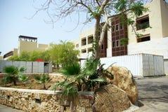 Mooi hotel op het strand jordanië Stock Foto