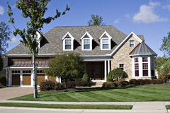 Mooi Huis Stock Foto's