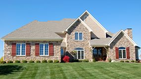Mooi huis Stock Foto