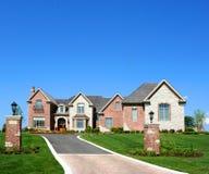 Mooi huis Stock Afbeeldingen