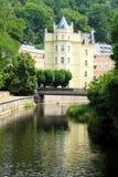 Mooi huis in Carlsbad (Karlovy variërt) Royalty-vrije Stock Afbeelding