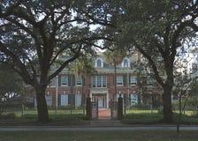 Mooi huis in Museumdistrict, Houston van de binnenstad, Texas stock afbeelding