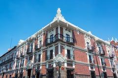 Mooi Huis in Puebla royalty-vrije stock foto's