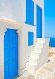 Mooi huis in Sifnos royalty-vrije stock afbeeldingen