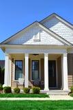 Mooi Huis tijdens de Lente Stock Fotografie