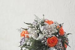 Mooi huwelijksboeket Stock Afbeeldingen