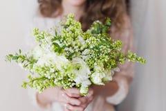 Mooi huwelijksboeket Royalty-vrije Stock Foto