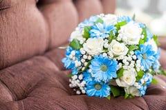 Mooi huwelijksboeket Royalty-vrije Stock Foto's