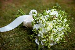Mooi huwelijksboeket Stock Fotografie