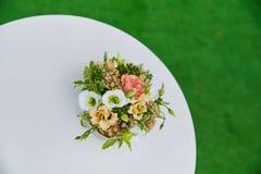 Mooi huwelijksboeket Royalty-vrije Stock Afbeeldingen