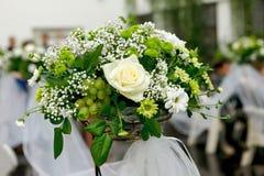 Mooi huwelijksboeket Stock Foto
