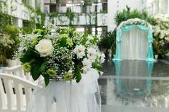 Mooi huwelijksboeket Stock Foto's