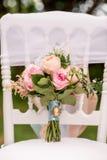 Mooi huwelijksboeket Royalty-vrije Stock Fotografie