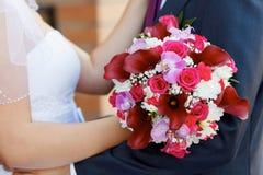 Mooi huwelijksboeket van de bruid Royalty-vrije Stock Foto's