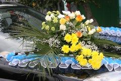 Mooi huwelijksboeket van verschillende bloemen Royalty-vrije Stock Fotografie