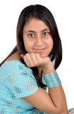 Mooi Indisch meisje stock foto