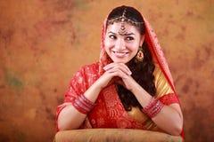 Mooi Indisch Meisje Stock Fotografie