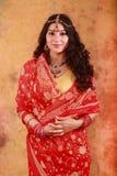 Mooi Indisch Meisje Royalty-vrije Stock Foto's