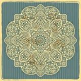 Mooi Indisch ornament Stock Afbeelding