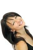 Mooi jong glimlachend meisje royalty-vrije stock foto's