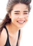 Mooi jong meisjesportret Royalty-vrije Stock Foto