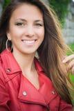 Mooi jong vrouwenportret Royalty-vrije Stock Foto's