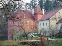 Mooi kasteel historisch monument stock fotografie