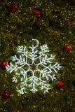 Mooi Kerstmislicht Stock Foto