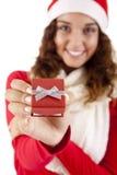 Mooi Kerstmismeisje Royalty-vrije Stock Afbeeldingen
