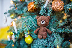 Mooi Kerstmisstuk speelgoed Royalty-vrije Stock Afbeelding