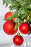 Mooi Kerstmisstuk speelgoed Royalty-vrije Stock Afbeeldingen