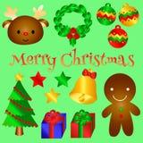 Mooi Kerstmisvoorwerp voor u Versie 2 royalty-vrije illustratie