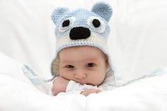 Mooi kind in hoed Royalty-vrije Stock Afbeeldingen