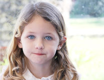 Mooi kindportret Stock Foto