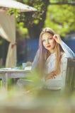 Mooi kleurrijk gestemd portret van sensuele jonge vrouwen met zo Royalty-vrije Stock Afbeeldingen