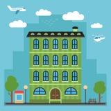 Mooi kleurrijk huis Stock Foto